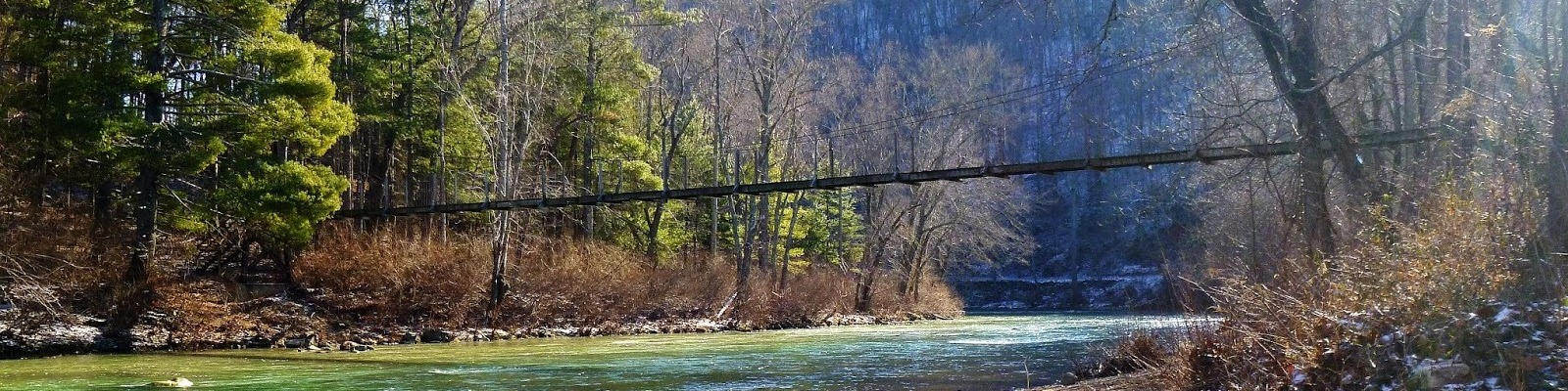 Swinging Bridge, Rockbridge County