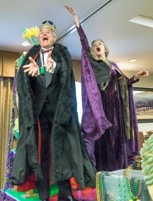 RAOC Mardi Gras 2016-King and Queen Throw Beads